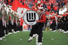 The best band in Wisconsin performs at pregame.