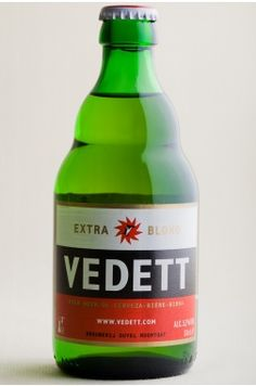 A Belgian beer that has somehow escaped my attention up until now - Vedett.