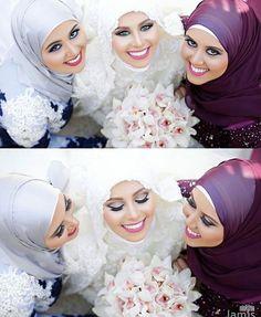 ✨Stunning ladies all dolled up and ready for the wedding!! ✨Soo pretty! @lamisphotography #muslimwedding #wedding #engagement #formal #formalwear #islam #muslim #hijabstyle #hijabibride #hijabbride #weddingday #weddingdress #bride #bridal #muslimfashion #muslimbride #modest #modestfashion #beauty #nikah #beautyblogger #fashionblogger #weddinginspo #hijabfashion #photo #photography عرس# #عرسان #عروسة