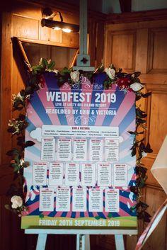 Stylish festival style wedding Mermaid Bar, Wedding Table, Wedding Day, Festival Themed Wedding, Festival Style, Wedding Signage, Island Resort, Island Weddings, Table Plans