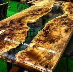 Mazel epoxy resin table with mazel epoxy furniture,live edge,epoxy river table,slab single table,res Outdoor Dining Furniture, Living Furniture, Bedroom Furniture, Epoxy Wood Table, Epoxy Resin Wood, Diy Tisch, Coffee Chairs, Wood Table Design, Resin Furniture