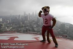 Butch on top of the Space Needle