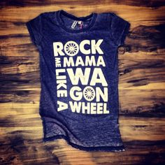 "Southern Charm ""Wagon Wheel"" Ladies Burnout T-shirt #southerncharmwear #showyersoutherncharm"