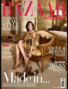 Harper's Bazaar Interiors Arabia Love, Luxury, Living   Ebru's wondrous waterside palace