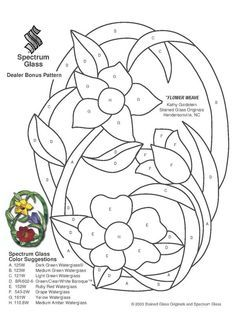 Resultado de imagen de free stained glass patterns for beginners