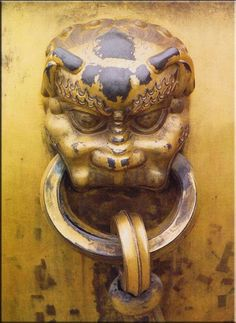 The Forbidden City door. This City was the Chinese imperial palace from the Ming dynasty to the end of the Qing dynasty—the years 1420 to 1912. It is located in the centre of Beijing, China. It served as the home of emperors and their households as well as the ceremonial and political centre of Chinese government for almost 500 years.  Built in 1406 to 1420, the complex consists of 980 buildings The palace complex exemplifies traditional Chinese palatial architecture in East Asia and…