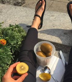 Sunshine fruit and barefoot sandals. Life is so very wonderful  Repost via @aprylelectrastorms#pin #vegan #fruit #holistichealth #grateful