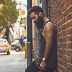 Paul Abrahamian - full thick bushy black beard beards bearded man men bearding #beardsforever