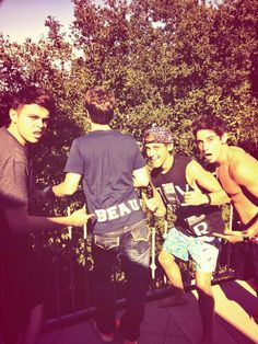 Luke Jai Beau James Daniel (Skip)  The Janoskians