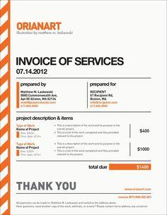 10 Creative Invoice Template Designs   Invoice Template, Invoice