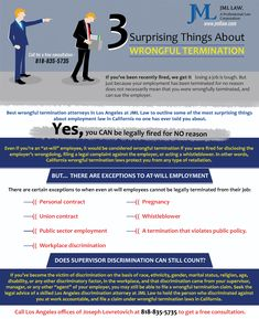 If your employee, can prove in court that you fired him ...