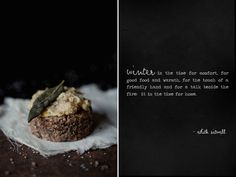 Savory Pecan Biscuits with Garlic-Herb Confit & CrispySage - Roost - Roost: A Simple Life.