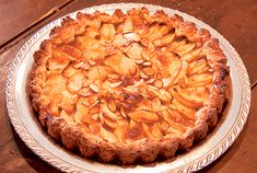 Apple-Apricot Crostada  From Joan Nathan's New American Cooking