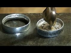 Make Rings out of Coins - YouTube
