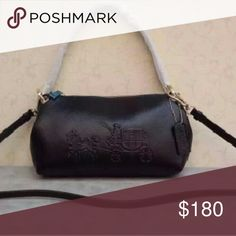 NEW Coach Crossbody Bag Dust bag has a hole. New without tags. Coach Crossbody Bag. Length 11.5 inches. Height 6.25 inches. Depth 2.75 inches. Currently retailing for $298 plus tax.  NO TRADES. PRICE FIRM. This is the lowest price. Ships within 1 to 2 business days. $110 on merc. Coach Bags