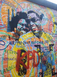 #EastSideGallery #RayCharles