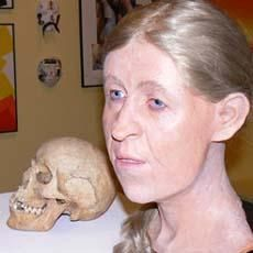 Facial reconstruction of an ancient Celtic woman, Facial reconstruction, have wanted to be able to do this work since I saw it on an episode of Quincy, M.E. in the 70's. Maybe someday!
