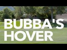 Video of Bubba Watson's amazing Hovercraft golf cart. You gotta see this...