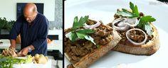 Paštika z kuřecích jater podle Zdeňka Pohlreicha Tacos, Appetizers, Mexican, Beef, Treats, Ethnic Recipes, Yum Yum, Food, Diy