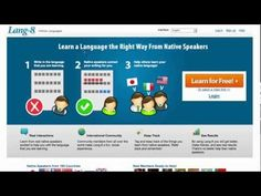 Multi-lingual language learning and language exchange | Lang-8: For learning foreign languages