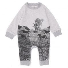 Stella McCartney Baby Sweatshirt Bodysuit
