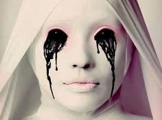 How to Make a Crying White Nun Costume for an American Horror Story Halloween American Horror Story Asylum, American Horror Story Costumes, American Horror Story Seasons, American Story, Xena Warrior Princess, Nun Costume, Costume Makeup, Sfx Makeup, Creepy Makeup
