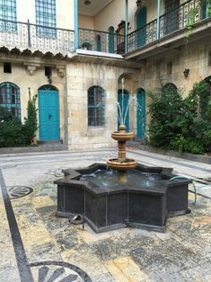 Courtyard with Fountain !