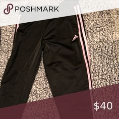 Shop Women's adidas Black Pink size LJ Track Pants & Joggers at a discounted price at Poshmark. Description: Has been worn a few times but in great condition! Adidas Joggers, Black Adidas, Fashion Tips, Fashion Design, Fashion Trends, Adidas Women, Pants For Women, Track, Times