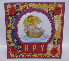 House-Mouse & Friends, Monday Challenge, HMFMC, House-Mousse Designs, Rainbow Colors, Cards, Papercrafts, http://housemouse-challenge.blogspot.com/