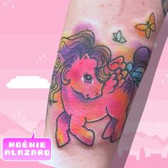 By Noemie Alazard @ Paris & Lille Little Poney, Watercolor Tattoo, Geek Stuff, Kawaii, Paris, Tattoos, Tattoo Art, Geek Things, Montmartre Paris