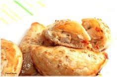 Chaussons feuilletés poulet poivron