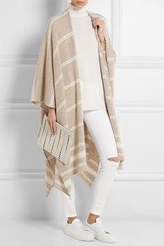 MADELEINE THOMPSON Striped cashmere wrap €450.00 http://www.net-a-porter.com/products/532360