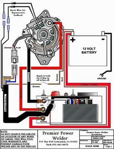 Automotive Alternator Wiring Diagram Kc Light Car Schematic Schematics Data Diagrams Boat Electronics Pinterest Rh Com Connections One Wire