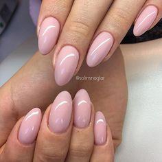 """Förstärkning med """"Nude Pink"""" från #lillynails"""