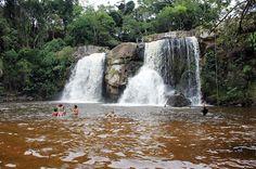 Cachoeira do desterro - Boa opção de lazer em Cunha