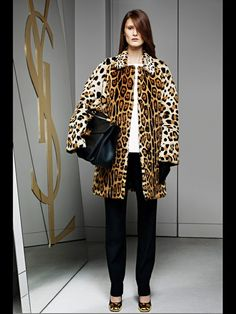Yves Saint Laurent - Women's Ready-to-Wear - 2012 Pre-Fall High Fashion, Fashion Show, Womens Fashion, Fashion Design, Fashion Trends, Women's Fashion Dresses, Yves Saint Laurent, Ready To Wear, Style Inspiration