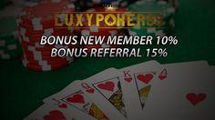 Luxypoker99.co merupakan sebuah tempat situs permainan poker online indonesia , dengan ini kami memberikan game poker online deposit 10000 uang asli.