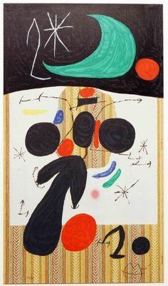 Joan Miró, Interieur et Nuit on ArtStack #joan-miro #art