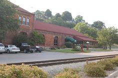 Burlington, Cedar Rapids & Northern Freight House in Des Moines County, Iowa.