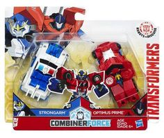 Transformers: Robots in Disguise Combiner Force inch Action Figure - Crash Combiner Strongarm and Optimus Prime Transformers Combiner Force, Optimus Prime Transformers, Transformers Bumblebee, Hasbro Transformers, Fun Activities For Toddlers, Weekend Crafts, Robot Action Figures, Toddler Fun, Disney Toys