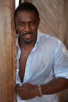 'ello luv *best Cockney accent*. Idris Elba. (ooh, lord!)