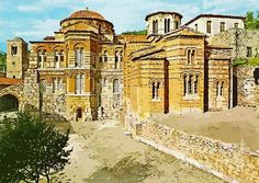 Hosios Loukas monastery Distomo Greece painting