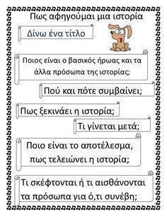 Elementary Teacher, Primary School, Elementary Schools, Speech Language Therapy, Speech And Language, Teaching Writing, Teaching Kids, Learn Greek, Greek Language