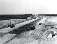 I-70 under construction in Terre Haute.