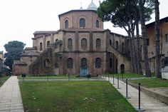 San Vitale, Ravenna, View from Galla Placidia