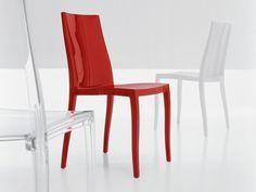 Stackable polycarbonate chair PANGEA by Bonaldo   design Archirivolto