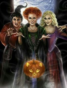 Hocos Pocus I put a spell on u love this film!!