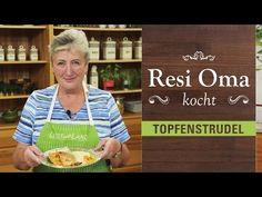 Resi Oma kocht - Topfenstrudel - YouTube