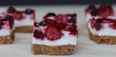 Berry Cream Bars