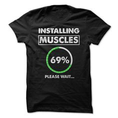 Intalling Muscles Tshirt - How cool is it! GET NOW!!! - #grafic tee #hoodie drawing. CHECKOUT => https://www.sunfrog.com/Sports/Intalling-Muscles-Tshirt--How-cool-is-it-GET-NOW.html?68278